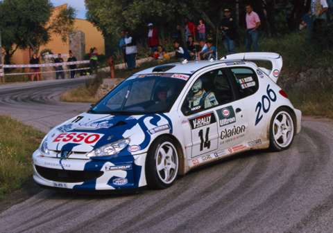 Juwra Com Peugeot 206wrc