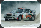 Hyundai Accent WRC, Kenneth Eriksson, Sweden 2000